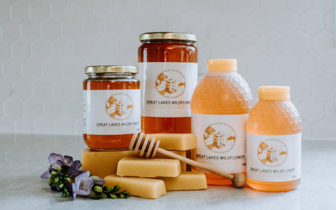 Stranks Bee Farm/ Product shoot